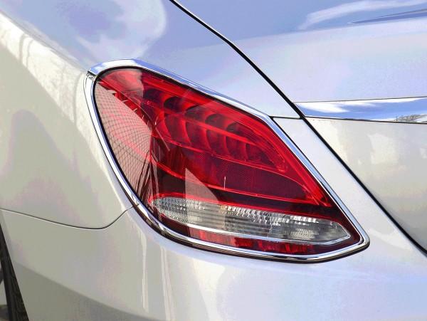 Mercedes C-Klasse W205 - Chrome Taillight Frames