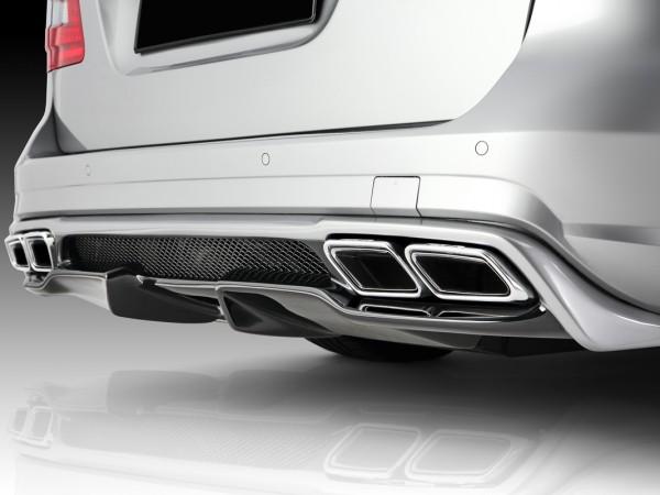 Mercedes E-Klasse W212 - Heckdiffusor + AMG Doppelendrohreinsätze