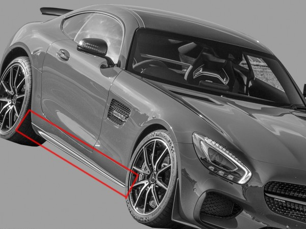 Sideskirt Kit Edition 1 for Mercedes AMG GT and AMG GTS