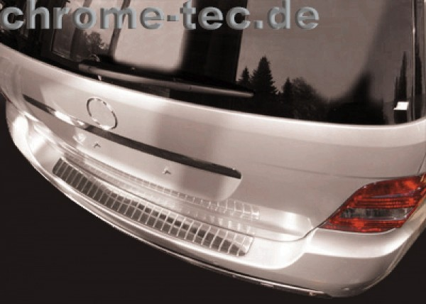 Stainless Steel cover for the rear bumper