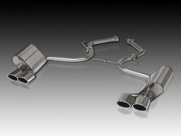4-Pipe Exhaust System for the Mercedes SL 55 AMG