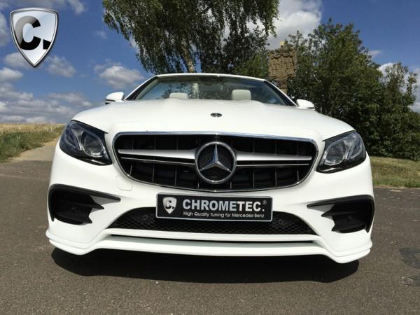 Kühlergrill AMG Style silber für Mercedes E-Klasse Limousine und T-Modell W213