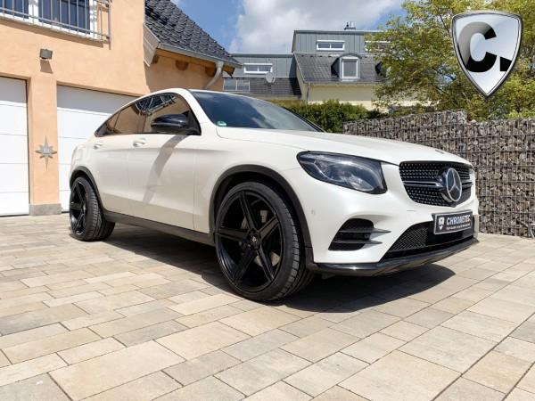 Rimkit 22'' Concave black matt for Mercedes GLC SUV and Coupe