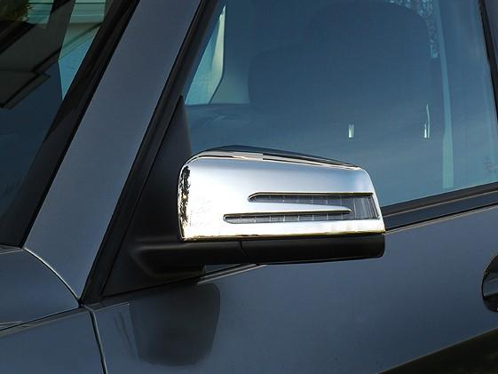Chromed Mirror Cover - Mercedes A-Class W176