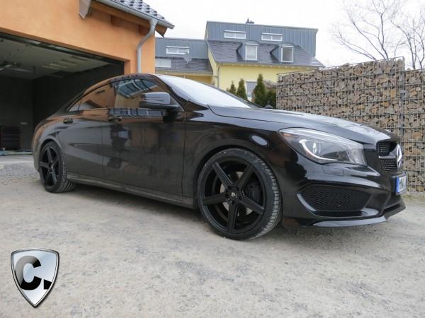 Felgensatz CONCAVE Schwarz matt 8,5 x 19'' - Mercedes CLA W117