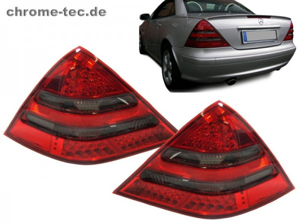 LED Tail Lights red/black
