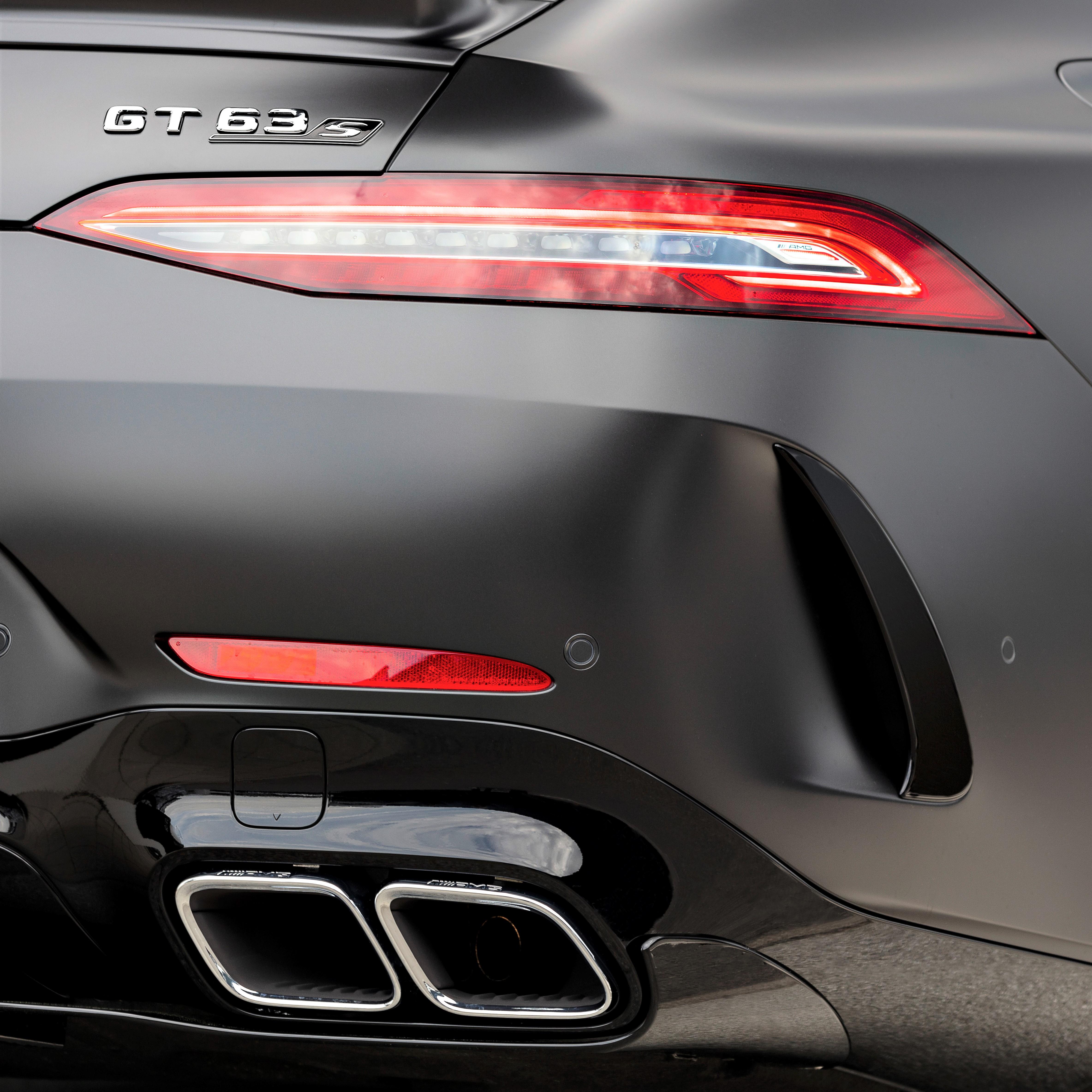 AMG GT 4-Türer V8-Soundmodul - Klappensteuerung