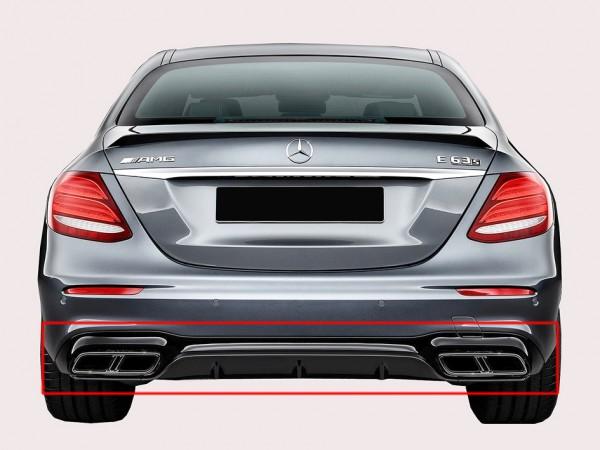E63 AMG Heckumrüstung Black für Mercedes E-Klasse Limousine W213 AMG-Line