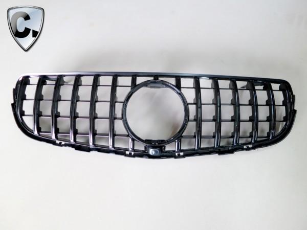 Panamericana Style Kühlergrill schwarz für Mercedes GLK X204 Vorfacelift