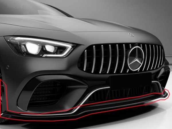 Front Lip for Mercedes AMG GT 4-Door Coupe X290