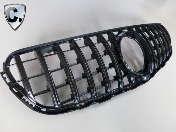 Radiator Grill Panamericana Style black for Mercedes GLC SUV and Coupe Pre-Facelift