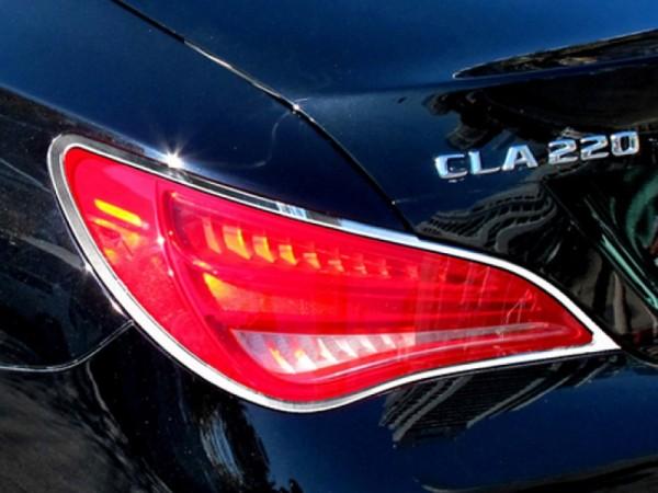 Mercedes CLA W117 - Chrome Taillight Frames