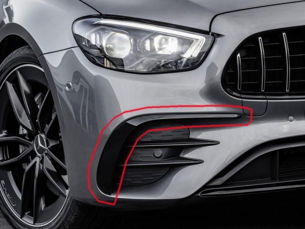 Frontflics E53 AMG für Mercedes E-Klasse Limousine W213 Facelift
