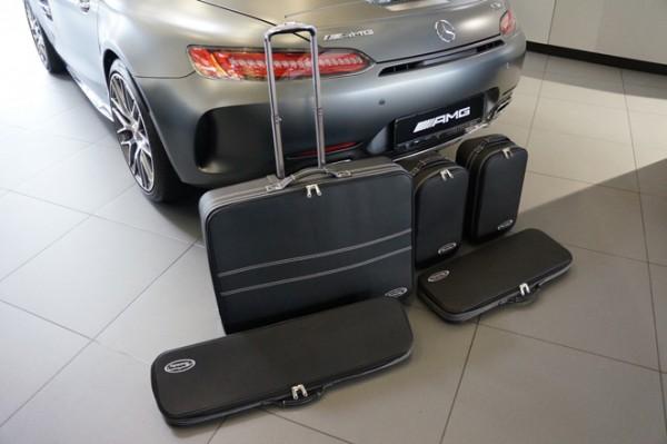 Roadster-Bags black for Mercedes AMG GT Roadster 5-pcs.