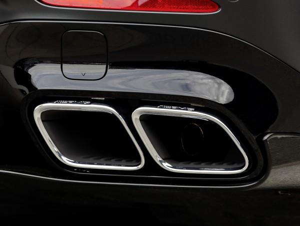 Auspuffumrüstung chrom auf AMG GT 63 S für für Mercedes AMG GT 43 und 53 4-Türer Coupe X290