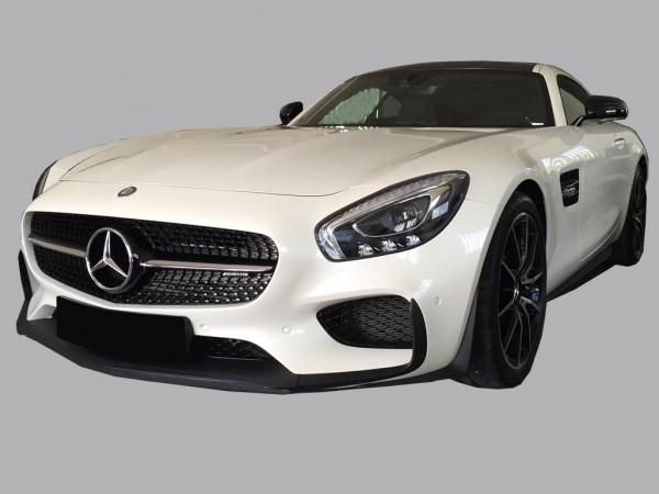 Frontspoilerlippe mit Flaps für Mercedes AMG GT und AMG GTS Coupe